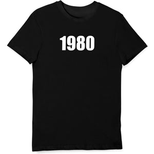 1980 Birth Year T Shirt