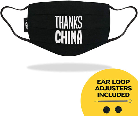 Thanks China - Funny Face Mask - LIMITED EDITION