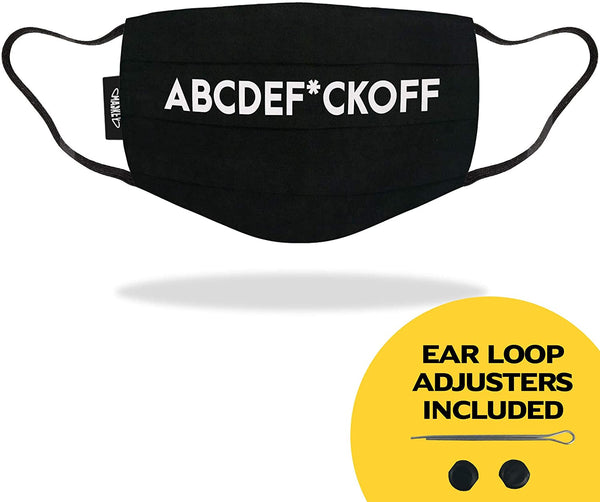 ABCDEF*CKOFF - Funny Face Mask - LIMITED EDITION