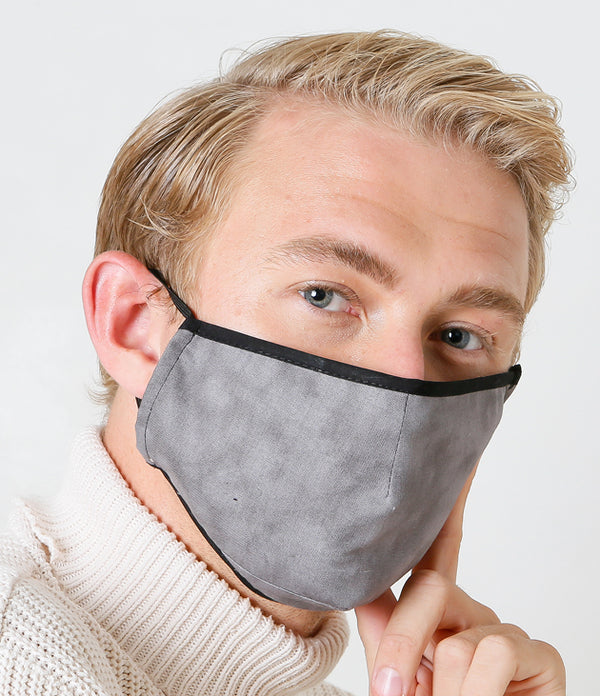 Grey Face Mask with a PM2.5 Filter