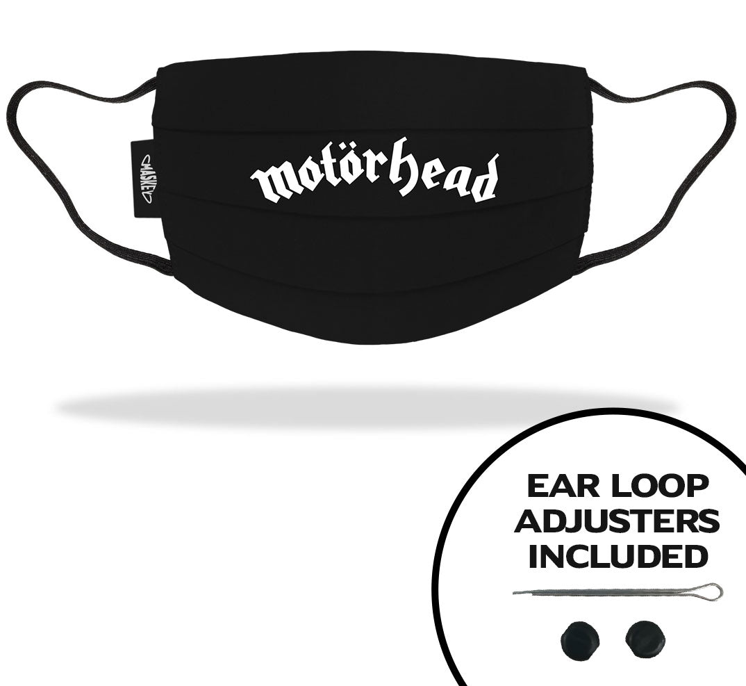 MOTOR HEAD | OFFICIAL FACE MASK MERCHANDISE