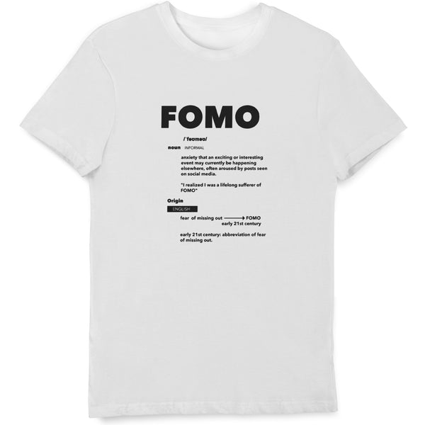 FOMO Definition T Shirt