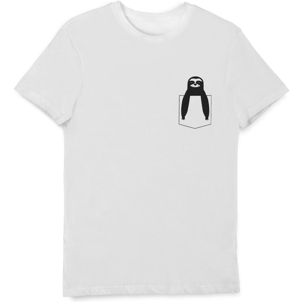 Pocket Sloth T Shirts