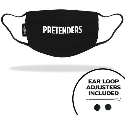THE PRETENDERS FACE MASKS | OFFICIAL FACE MASK MERCHANDISE