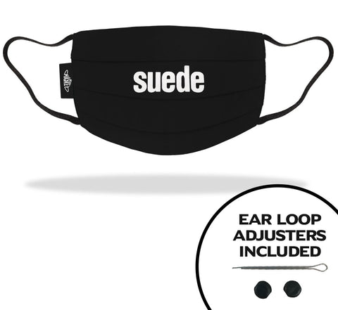 SUEDE FACE MASKS | OFFICIAL FACE MASK MERCHANDISE