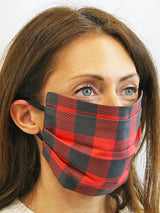 Red & Black Checkered Maskey - SPECIAL LIMITED EDITION - (Only 50 Units Made)