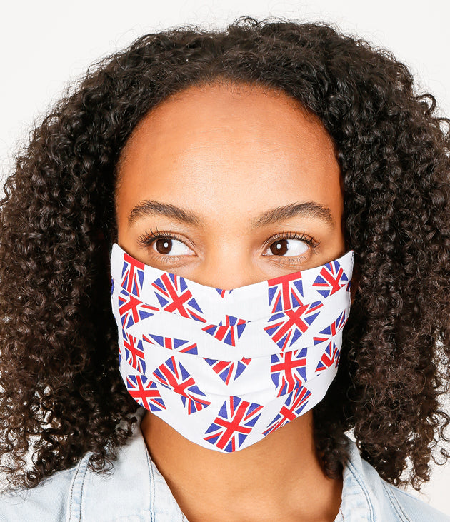 Union Jack Fashionable Face Mask