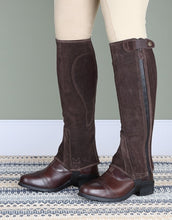 Load image into Gallery viewer, Moretta suede half chaps