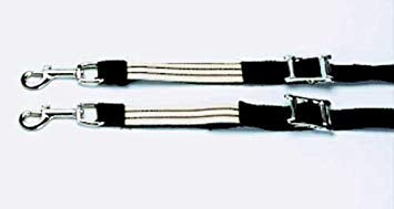 Nylon elasticated side reins