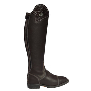 Buataisi Long Leather Riding Boot Brown