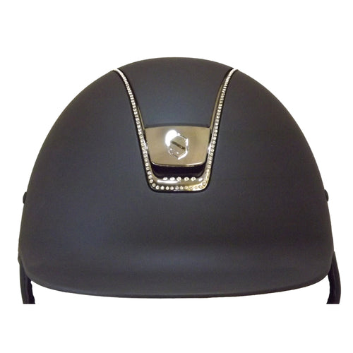 Samshield Navy Shadowmatt 255 Crystal Riding Hat