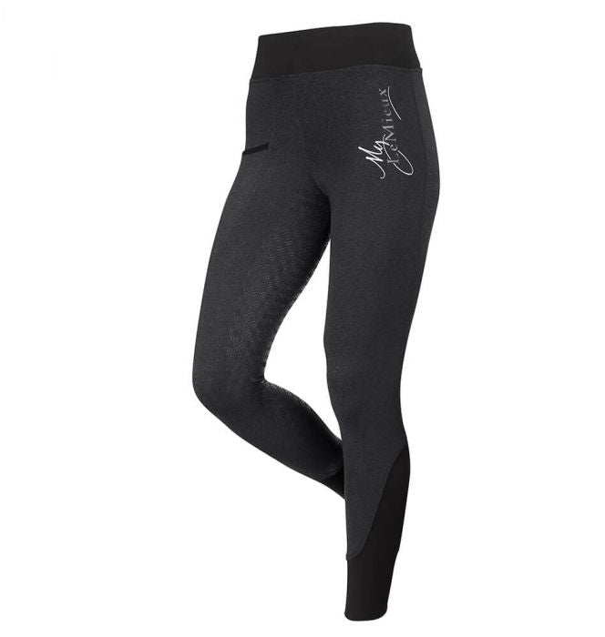 LeMieux Active Wear Seamless Breeches Black