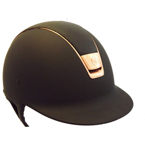 Samshield Shadowmatt Riding Hat Shimmer Top Rose Gold