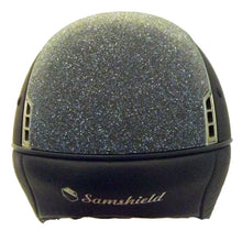 Load image into Gallery viewer, Samshield Navy Shadowmatt with Swarovski Crystal Fabric top