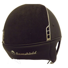 Load image into Gallery viewer, Samshield Black Shadowmatt with Alcantara Top Riding Helmet