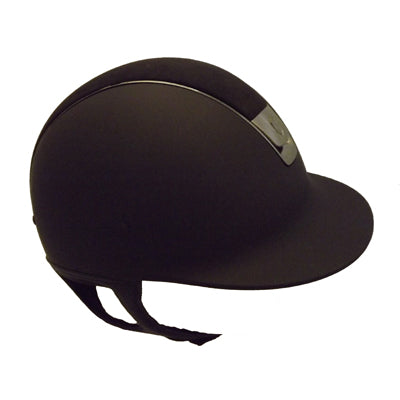 Samshield Black Shadowmatt with Alcantara Top Riding Helmet