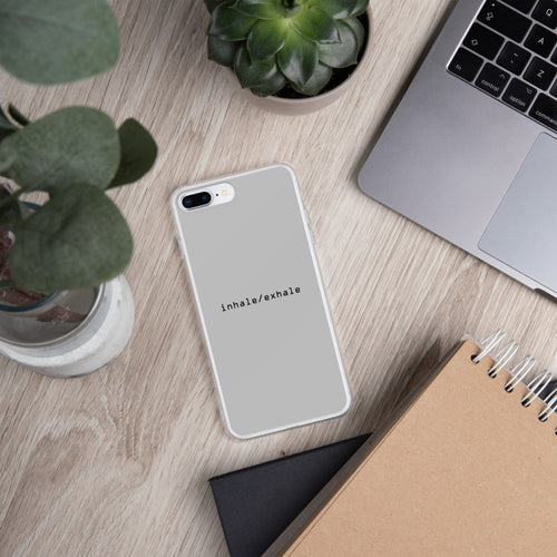 INHALE / EXHALE:  iPhone Case