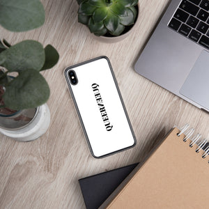 QUEEN QUEER: iPhone Case | White