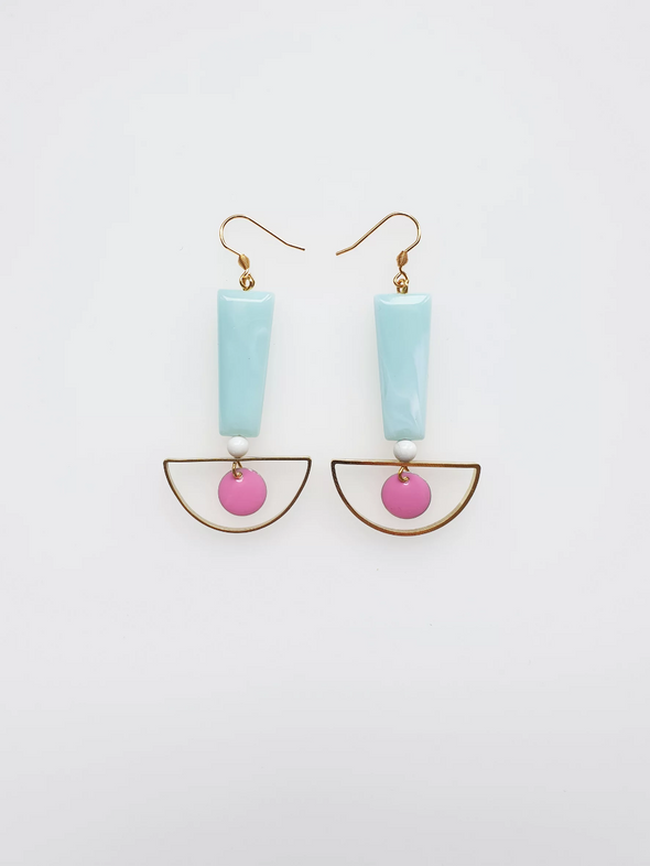 Calippo Earrings - Mint