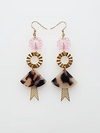 Ceremony Earrings - Pink