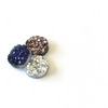 Druzy Studs - Midnight Blue