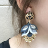 Flora Statement Earrings - Tropical