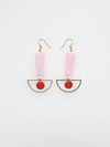 Calippo Earrings - Pink