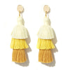 Tulum Earrings - Mellow Yellow
