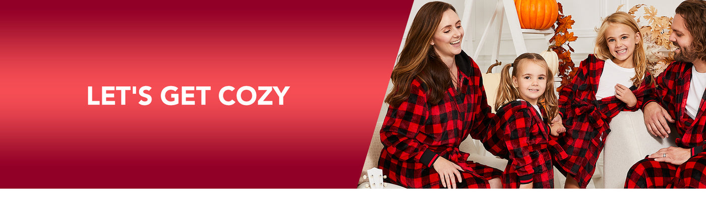 Let's Get Cozy! Matching Family Pajamas