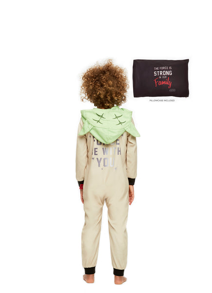 Star Wars Family Pajamas, Toddler Yoda Blanket Sleeper Onesie