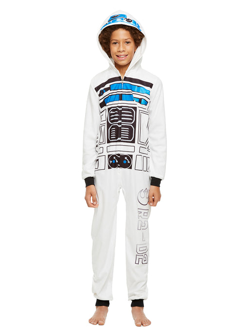 Star Wars Family Pajamas, Kids R2D2 Blanket Sleeper Onesie