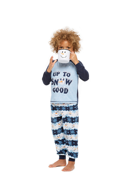 Family Holiday Pajamas, Toddlers 2-Piece Pajama Set, Winter Wonderland