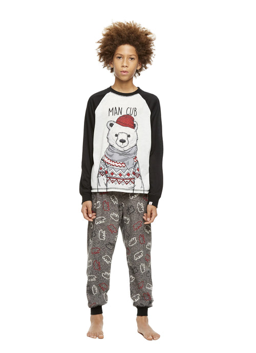 Boys 2-Piece Pajama Set Bear
