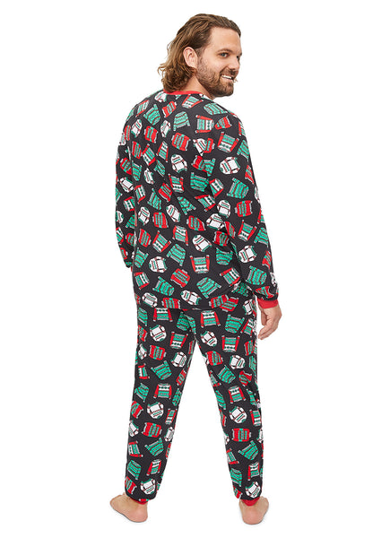 Christmas Matching Family Pajamas - Ugly Sweater Party - Mens 2-Piece PJ Set