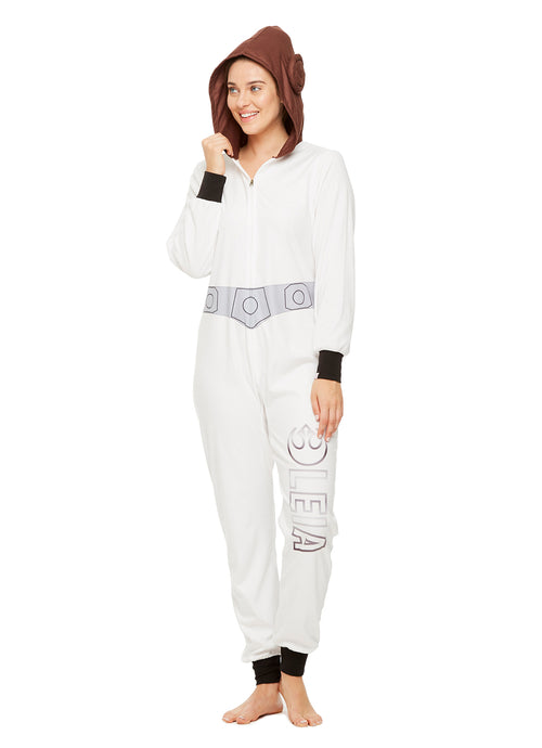 Star Wars Family Pajamas, Womens Princess Leia Blanket Sleeper Onesie