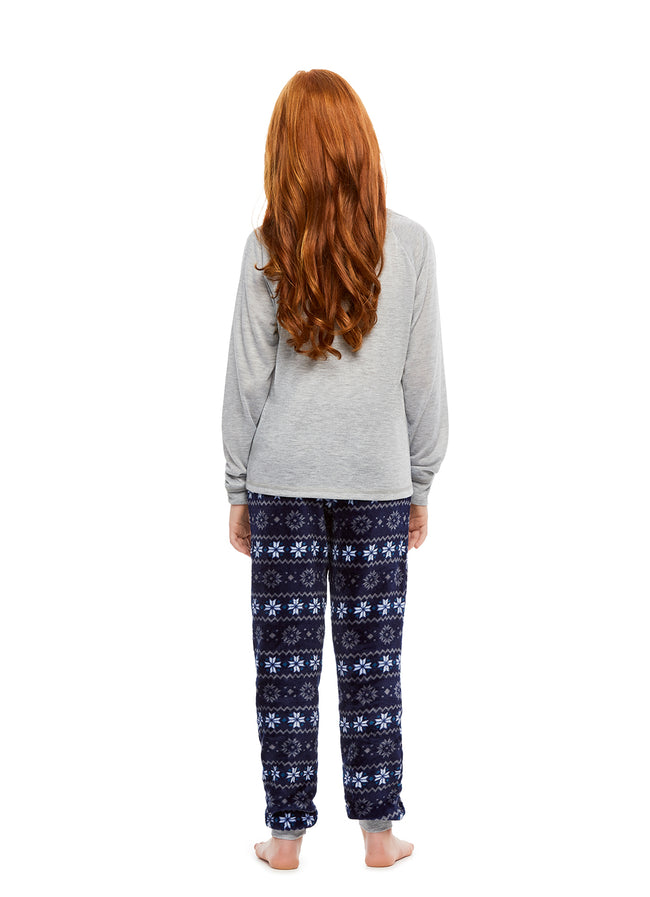 Family Let's Hibernate Matching Pajama Sets | Girls 2-Piece Pajama