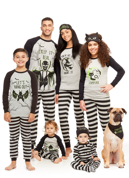 Family Matching Halloween Pajama Set | Pets Bandana