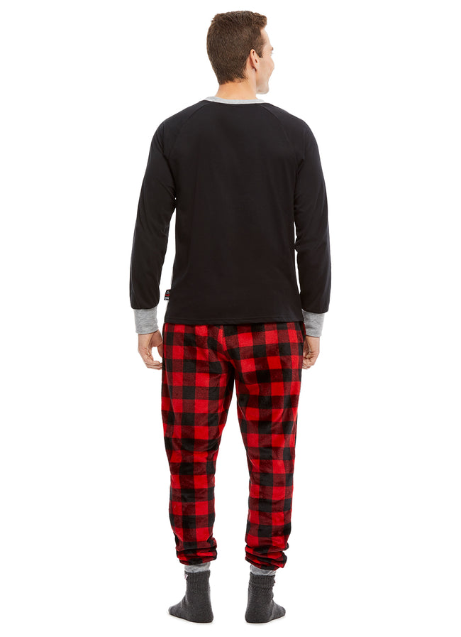 Family Holiday Oh Deer Matching Pajama Sets | Mens 2-Piece Pajama