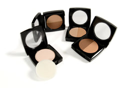 Danyel' Cream Compact Duo Foundations and translucent pressed powder