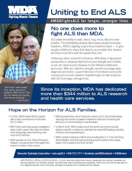 MDA Fights ALS