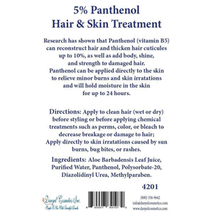 Marli' Skin Care 5 % Panthenol Hair & Skin Treatment