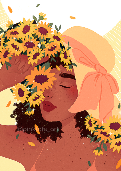 """Flourish""- Art print"