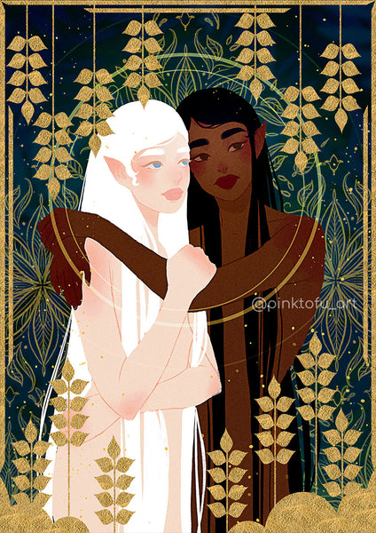 """Together"" -art print"