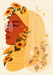 "🌻""Sunflower""🌻-Art print"