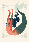 """Dancing mermaids""- Art prints- Buy separately or as a set !"