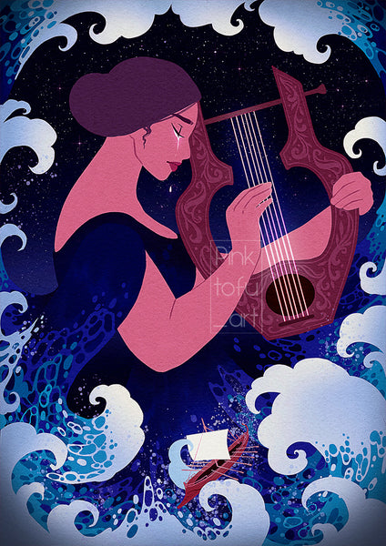 """The song of the sea""- Art print"