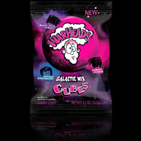 Warheads Galactic Cubes 128g