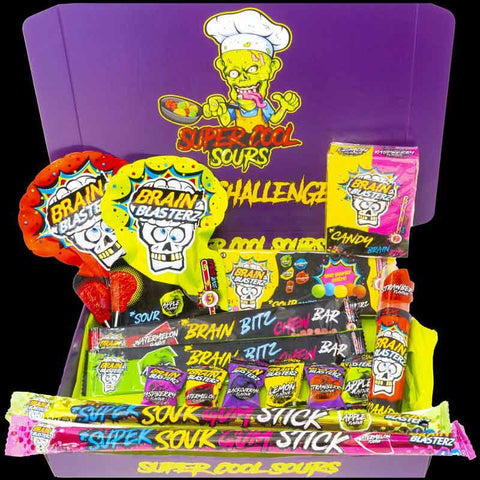 Sour Challenge Selection Box Brain Blasterz Edition
