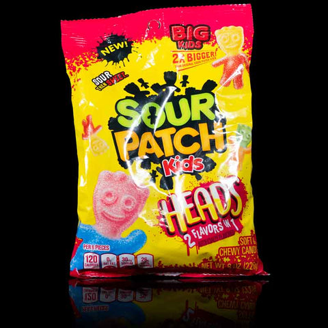 Sour Patch Kids Big Heads