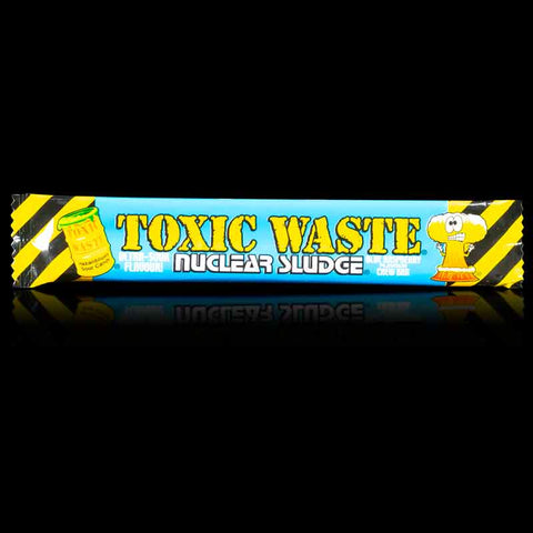 Toxic Waste Nuclear Sludge Blue Raspberry Chew Bars